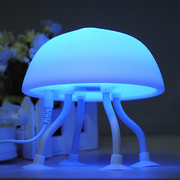Buy Diy Led Jellyfish Lamp Desk Lamp Small Night Light
