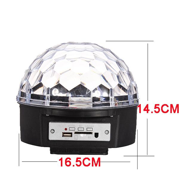 mp3 led magic ball light instructions