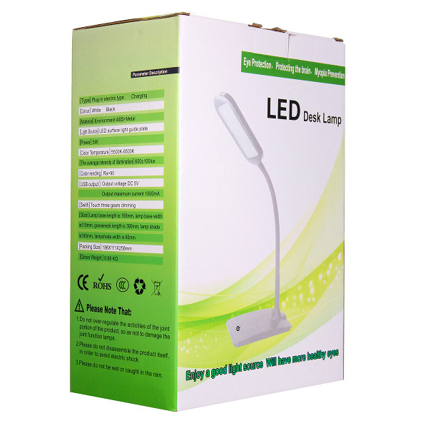 Buy Flexible Dimmable Rechargeable Touch Sensor Led