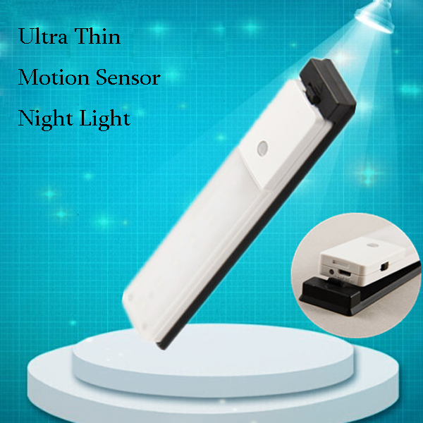Buy New Design Ultra Thin Pir Usb Rechargeable Led Cabinet