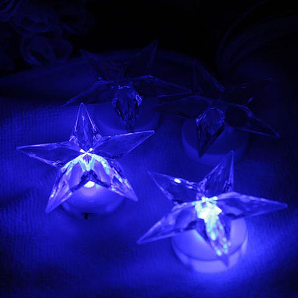Buy Novelty Pentagram Chuk Color Changing Decoration LED Night Light BazaarGadgets.com