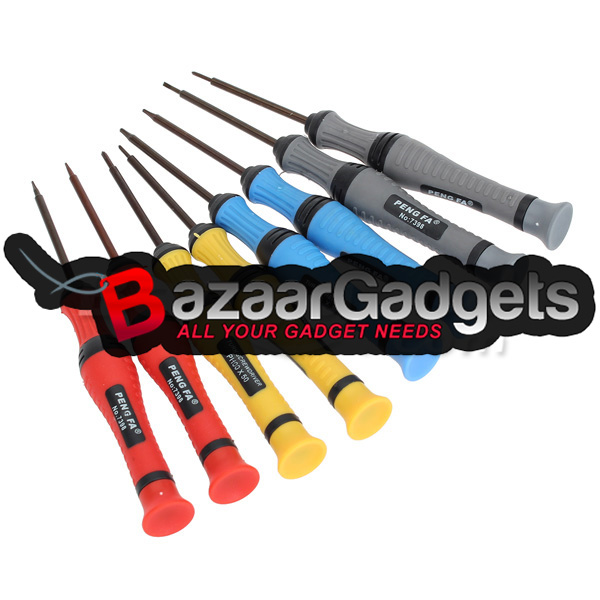 buy 8 in 1 screwdriver set opening tools for smart phone repair bazaargadge. Black Bedroom Furniture Sets. Home Design Ideas
