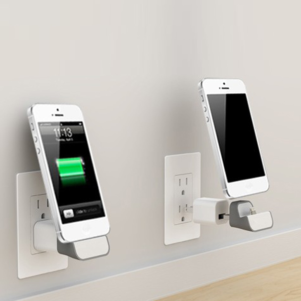 Buy Micro USB Mini Wall Charger Wireless Charging Dock For ...