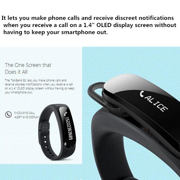 Köp Original Huawei Honor TalkBand B1 Bluetooth V3.0 Smart ...