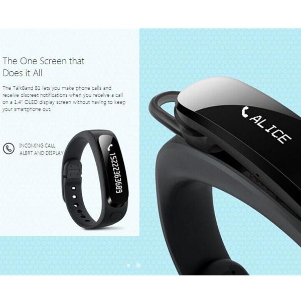 Buy Original Huawei Honor TalkBand B1 Bluetooth V3.0 Smart ...