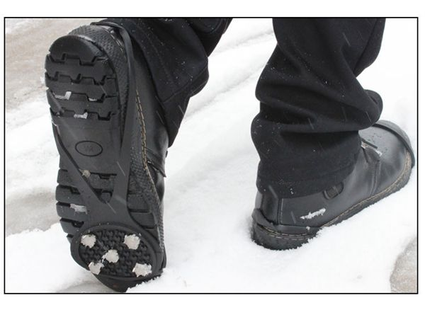 Buy Anti-slip Non-slip Shoes Cover Spikes Crampons Grip