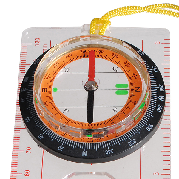 buy liquidfilled camping compass ruler magnifier