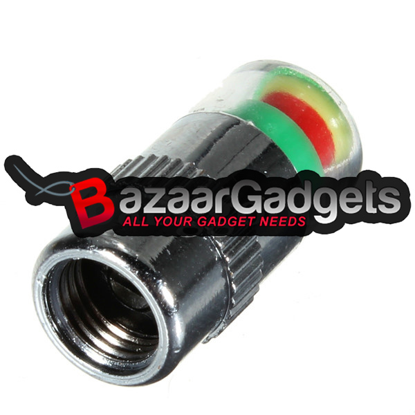 Buy 4 Tires Pressure Monitor Indicator Valve Stem Cap
