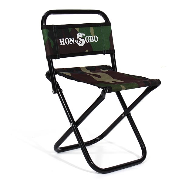 Buy Camouflage Folding Stool Canvas Portable Double Folding Fishing Chair