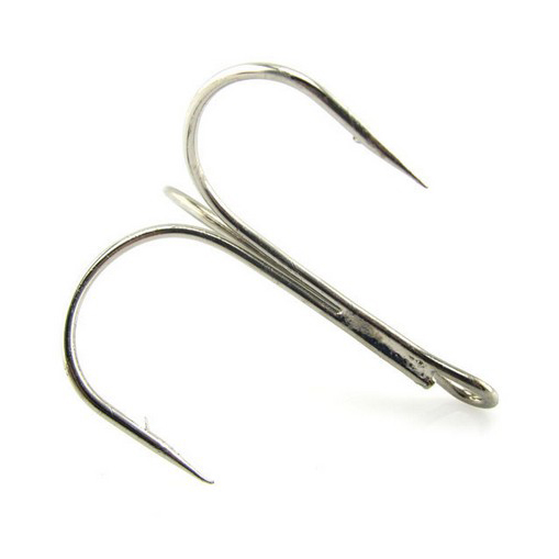 Buy high carbon stainless steel triple fishing hook for Stainless steel fishing hooks