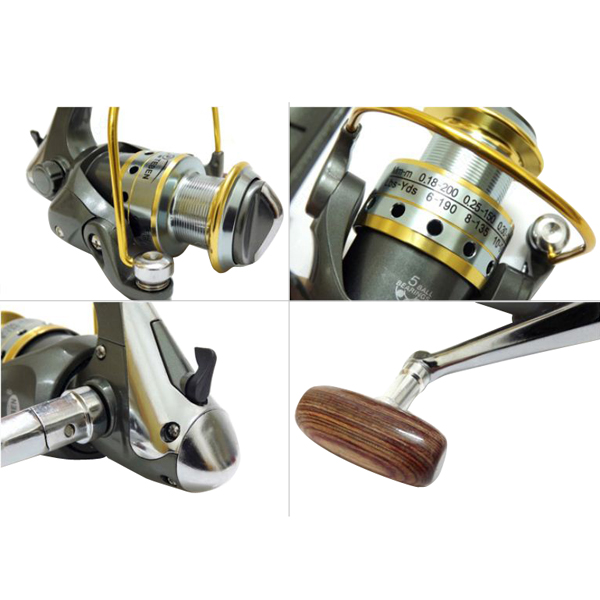 Buy outdoor fishing tackle 5 shaft 3000 5 1 1 fishing line for Handline fishing reel