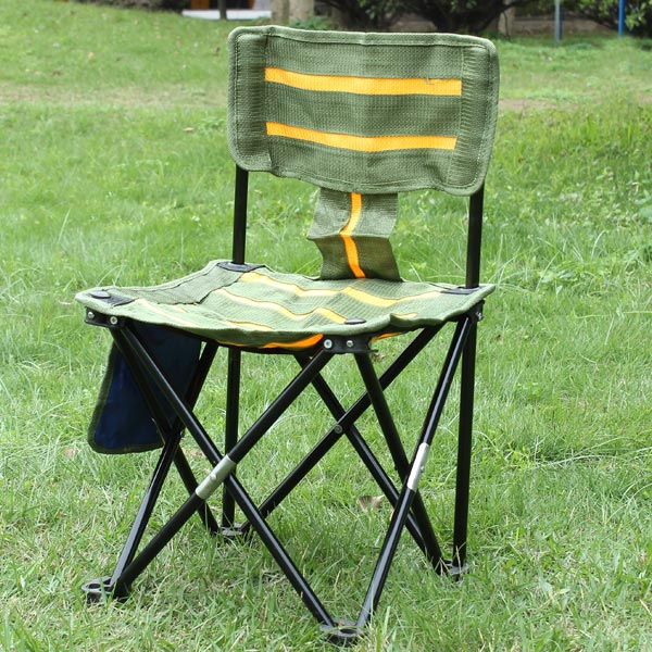 Buy Outdoor Portable Striped Chair Folding Fishing Chair