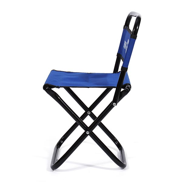 Buy Portable Folding Chair Backrest Fishing Chair Small Blue Folding Stool