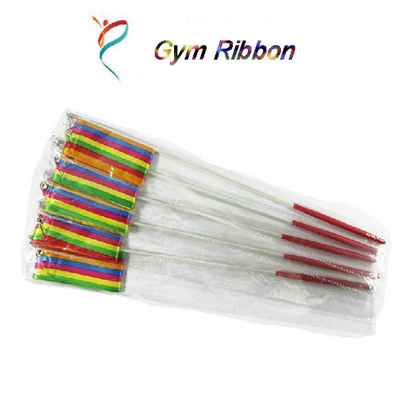 Buy Children Colorful Gymnastic Ribbons Rock Dancing