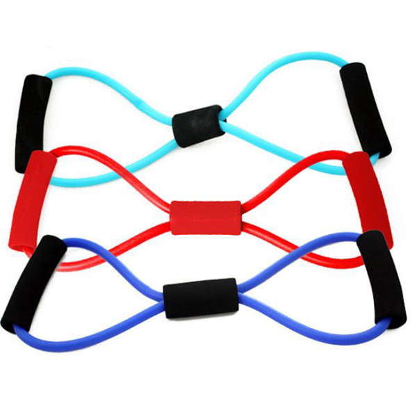 Buy Sports Fitness Yoga Resistance Band 8 Shape Pull Rope