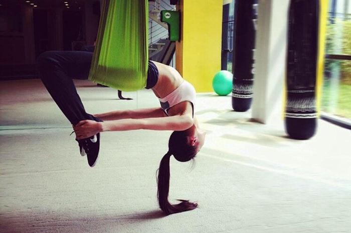 Buy Yoga Swing Sling Trapeze Hammock For Gym Yoga Pilates
