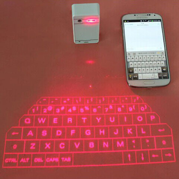 Buy Mini Bluetooth Virtual Laser Projection Keyboard For