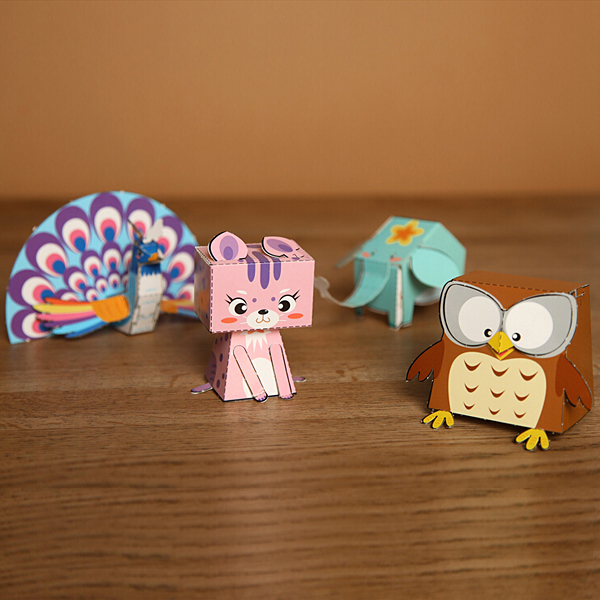 buy 3d handmade origami toys 3d stereo sticker educational