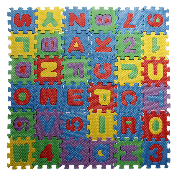 Buy Baby Colorful Eva Foam Alphabet Letters Numbers Mat