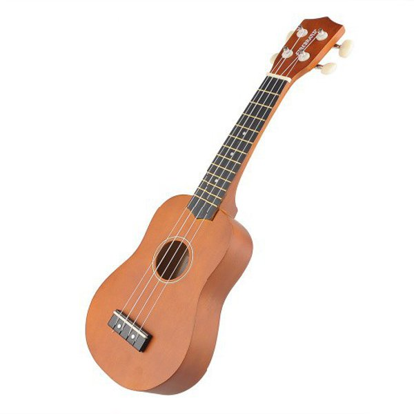buy 21 inch acoustic soprano hawaii ukulele musical instrument. Black Bedroom Furniture Sets. Home Design Ideas