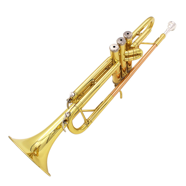 Buy Lade Bb Copper Golden Trumpet Brass Band With Glove