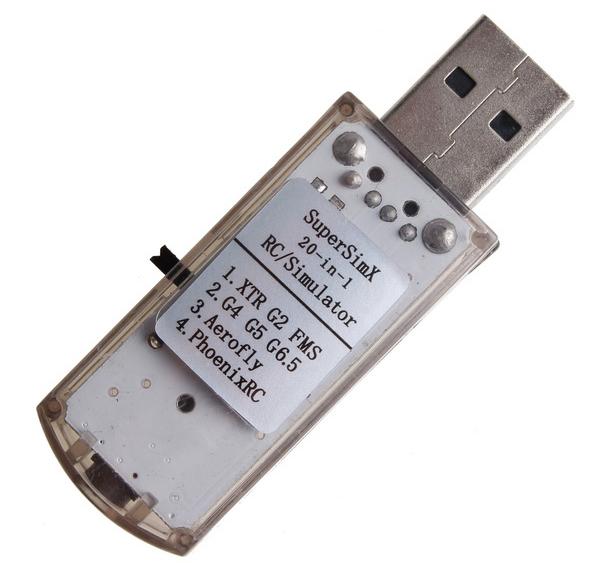 Buy 20 In 1 USB Simulator For RC Realflight G6.5 Phoenix 4 ...