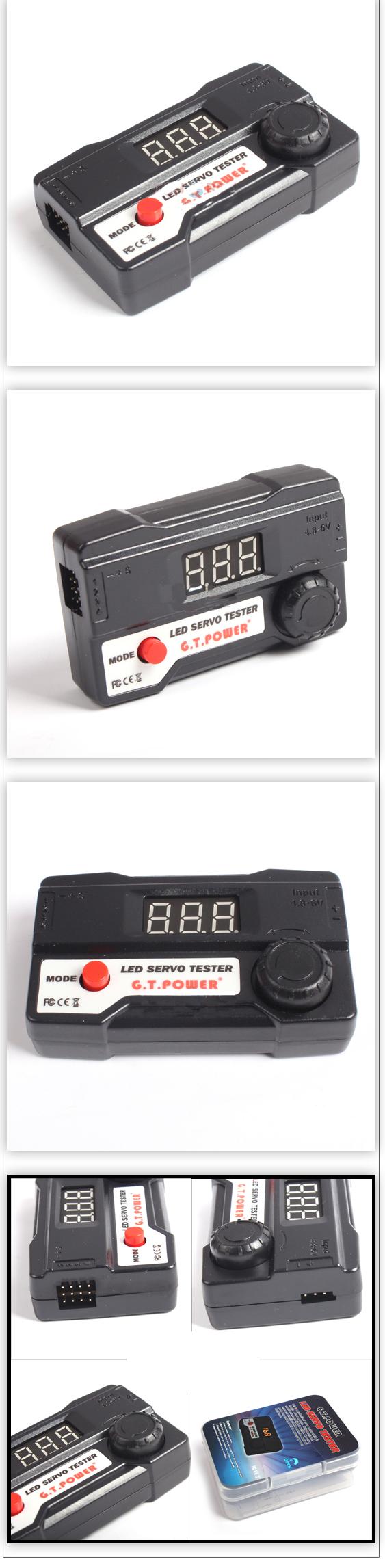Digital Tube Tester : Buy gt power led digital tube servo tester bazaargadgets
