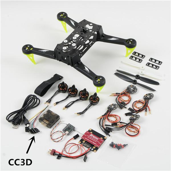 Dsm Keukens Betaling : Køb Spedix ARF S250Q Bilbon Fiber CC3D Motor ESC Propeller