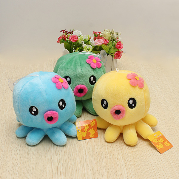 Buy 18cm Plush Toys Octopus Stuffed Soft Cartoon Doll Toy