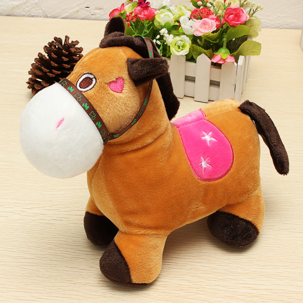 Roses Valentine S Day With Stuff Toys : Buy cute horse doll plush toy valentine s day gift
