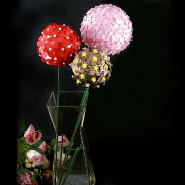 Buy polystyrene ball solid sphere halves craft party - Decoration boule de noel en polystyrene ...