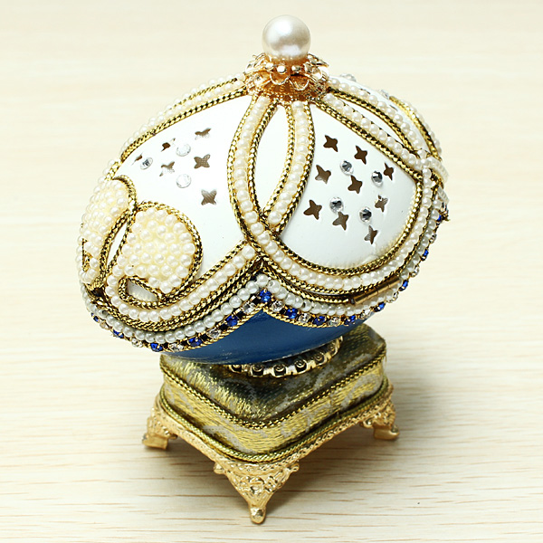 Thai Wedding Gifts: Buy Royal Carriage Egg Carving Music Box DIY Gift Wedding