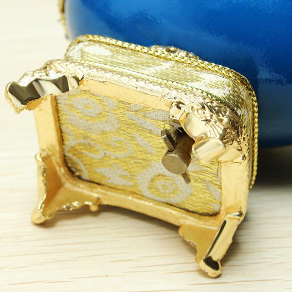 Buy royal carriage egg carving music box diy gift wedding